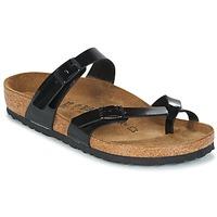 Zapatos Mujer Zuecos (Mules) Birkenstock MAYARI Negro / Barniz