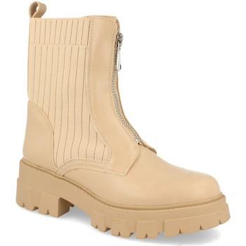 Zapatos Mujer Botines Ainy 8723 Beige
