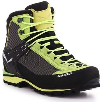 Zapatos Hombre Senderismo Salewa MS Crow Gtx Marrón