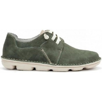 Zapatos Hombre Derbie On Foot A022075 Verde