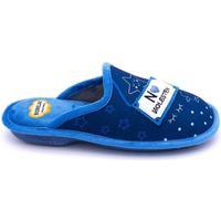 Zapatos Mujer Pantuflas Cosdam 4515 Azul
