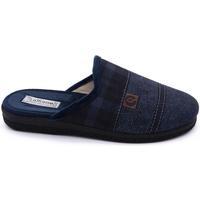 Zapatos Hombre Pantuflas Roal 849 Azul