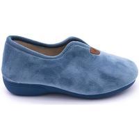 Zapatos Mujer Pantuflas Roal 728 Azul