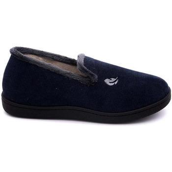 Zapatos Hombre Pantuflas Roal 12279 Azul