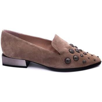 Zapatos Mujer Mocasín Angel Alarcon A018065 Marrón