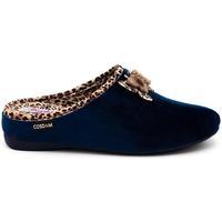 Zapatos Mujer Pantuflas Cosdam 5133 Azul