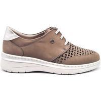 Zapatos Mujer Derbie Notton 3204 Gris