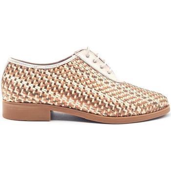 Zapatos Mujer Richelieu Pitillos 3210 Beige