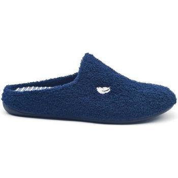 Zapatos Hombre Pantuflas Roal 30108 Azul