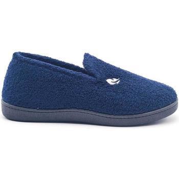Zapatos Hombre Pantuflas Roal 12322 Azul