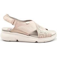 Zapatos Mujer Sandalias On Foot 90007 Oro