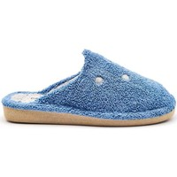 Zapatos Mujer Pantuflas Berevere V1408 Azul