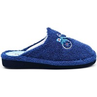 Zapatos Mujer Pantuflas Berevere V1406 Azul