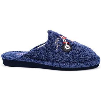Zapatos Hombre Pantuflas Berevere 1806 Azul