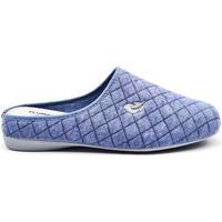 Zapatos Mujer Pantuflas Roal 9010 Azul