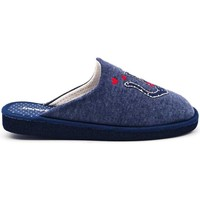 Zapatos Mujer Pantuflas Berevere V1404 Azul