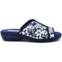 Zapatos Mujer Pantuflas Roal 763 Azul