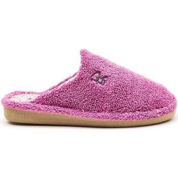 Zapatos Mujer Pantuflas Berevere V1401 Violeta