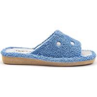 Zapatos Mujer Pantuflas Berevere V1008 Azul