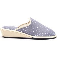 Zapatos Mujer Pantuflas Berevere V1450 Azul