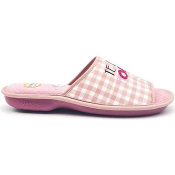 Zapatos Mujer Pantuflas Cosdam 4045 Rosa