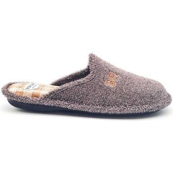 Zapatos Hombre Pantuflas Cosdam 1482 Marrón