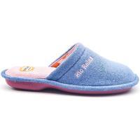 Zapatos Mujer Pantuflas Cosdam 4026 Azul