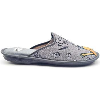 Zapatos Hombre Pantuflas Cosdam 1463 Gris
