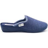 Zapatos Mujer Pantuflas Cosdam 0819 Azul