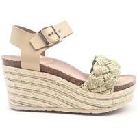 Zapatos Mujer Sandalias Genuins G103705 Beige