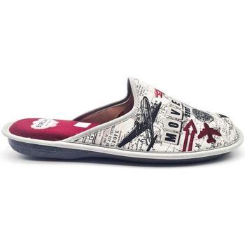 Zapatos Hombre Pantuflas Cosdam 1579 Rojo