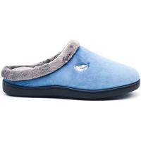 Zapatos Mujer Pantuflas Roal 12230 Azul