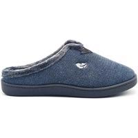 Zapatos Hombre Pantuflas Roal 12248 Azul