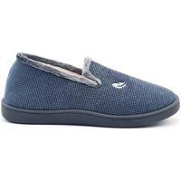 Zapatos Hombre Pantuflas Roal 12249 Azul