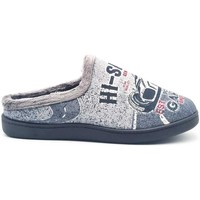 Zapatos Hombre Pantuflas Roal 12229 Gris