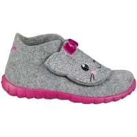 Zapatos Niños Pantuflas Superfit Happy Grises