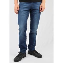 textil Hombre Vaqueros rectos Wrangler Greensboro W15QEH76 azul