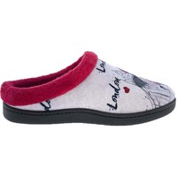 Zapatos Mujer Pantuflas Plumaflex By Roal Zapatillas de Casa Roal 12213 London Rojo