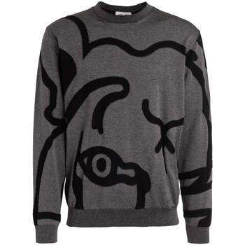 textil Hombre Jerséis Kenzo Suéter de hombre K-Tiger gris Gris