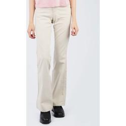 textil Mujer Pantalones Wrangler Eve W28797210 kremowe