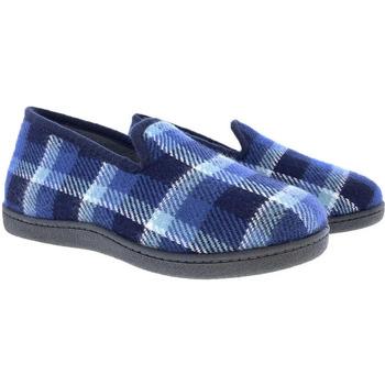 Zapatos Mujer Pantuflas Plumaflex By Roal Zapatillas De Casa Roal 12008 Azul Azul