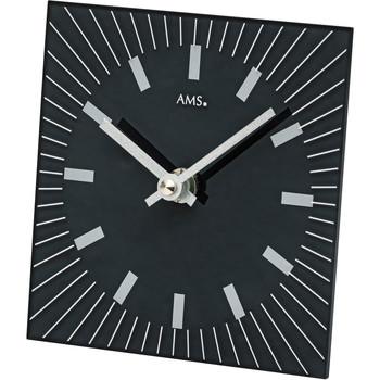Relojes & Joyas Relojes analógicos Ams 1158, Quartz, Black, Analogue, Modern Negro