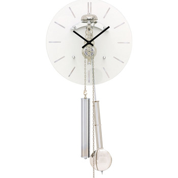 Relojes & Joyas Reloj Ams 308, Mechanical, White, Analogue, Modern Blanco