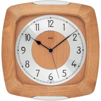 Casa Relojes Ams 5804/18, Quartz, Silver, Analogue, Classic Plata