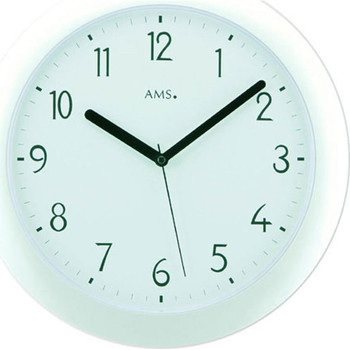 Casa Relojes Ams 5844, Quartz, White, Analogue, Modern Blanco