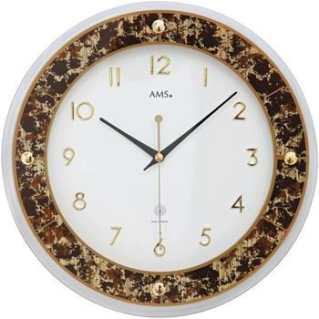 Casa Relojes Ams 5853, Quartz, White, Analogue, Modern Blanco