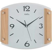 Casa Relojes Ams 5938/18, Quartz, Silver, Analogue, Modern Plata