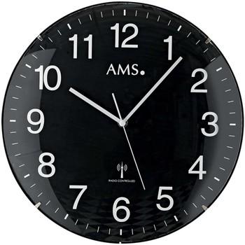 Casa Relojes Ams 5959, Quartz, Black, Analogue, Modern Negro