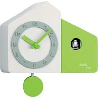 Casa Relojes Ams 7395, Quartz, White, Analogue, Modern Blanco