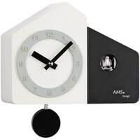 Casa Relojes Ams 7397, Quartz, White, Analogue, Modern Blanco